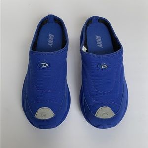 DKNY Electric Blue Slip On Sneakers